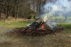Grünschnitt verbrennen