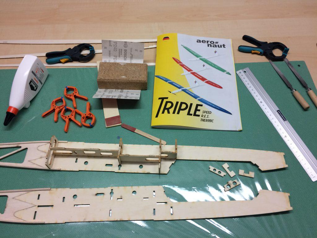 """Erste Baufortschritte beim """"Triple"""""""