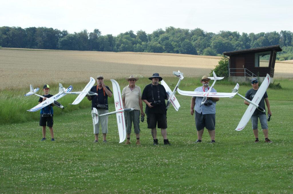 Gruppenfoto Easy-Glider